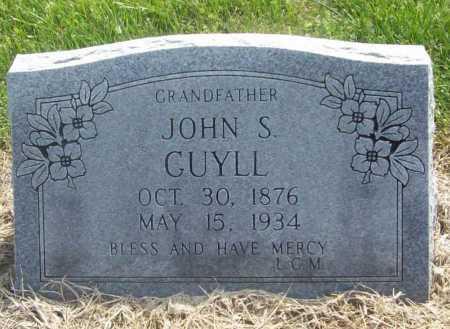 GUYLL, JOHN S. - Benton County, Arkansas | JOHN S. GUYLL - Arkansas Gravestone Photos