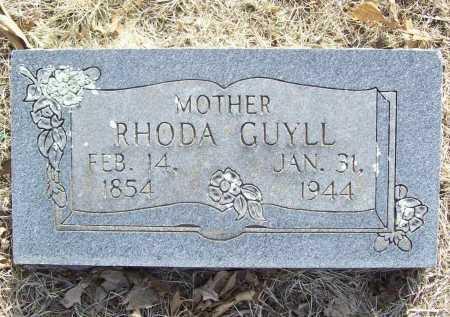 GUYLL, RHODA - Benton County, Arkansas   RHODA GUYLL - Arkansas Gravestone Photos