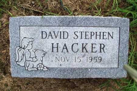 HACKER, DAVID STEPHEN - Benton County, Arkansas | DAVID STEPHEN HACKER - Arkansas Gravestone Photos