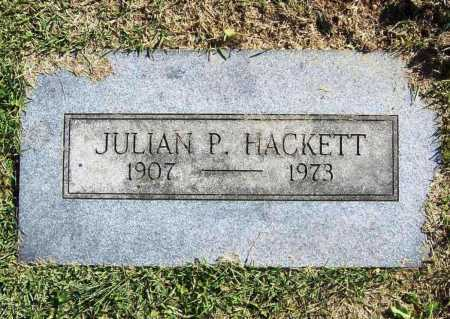 HACKETT, JULIAN P. - Benton County, Arkansas | JULIAN P. HACKETT - Arkansas Gravestone Photos