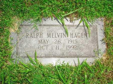 HAGEN, RALPH MELVIN - Benton County, Arkansas   RALPH MELVIN HAGEN - Arkansas Gravestone Photos