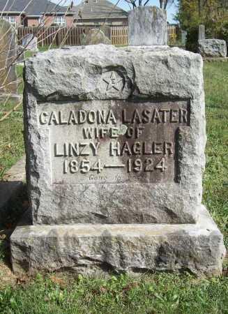 LASATER HAGLER, CALADONA - Benton County, Arkansas   CALADONA LASATER HAGLER - Arkansas Gravestone Photos