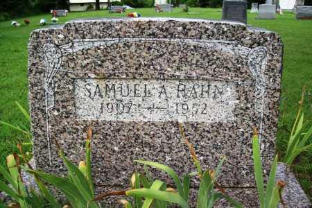 HAHN, SAMUEL A. - Benton County, Arkansas | SAMUEL A. HAHN - Arkansas Gravestone Photos