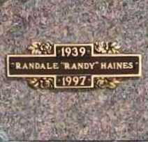 "HAINES, RANDALE ""RANDY"" - Benton County, Arkansas 