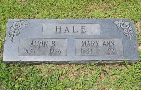 HALE, ALVIN B. - Benton County, Arkansas | ALVIN B. HALE - Arkansas Gravestone Photos