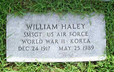 HALEY (VETERAN 2 WARS), WILLIAM - Benton County, Arkansas   WILLIAM HALEY (VETERAN 2 WARS) - Arkansas Gravestone Photos