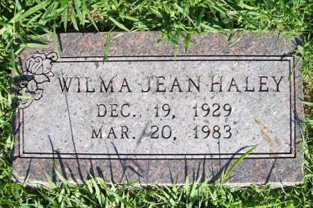 HALEY, WILMA JEAN - Benton County, Arkansas | WILMA JEAN HALEY - Arkansas Gravestone Photos