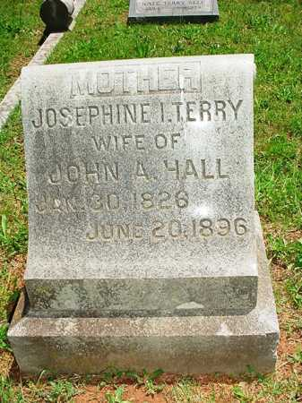 TERRY HALL, JOSEPHINE I. - Benton County, Arkansas | JOSEPHINE I. TERRY HALL - Arkansas Gravestone Photos