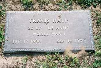 HALL (VETERAN WWI), TRAVIS - Benton County, Arkansas | TRAVIS HALL (VETERAN WWI) - Arkansas Gravestone Photos