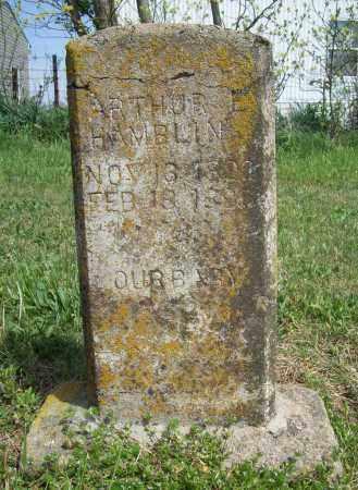 HAMBLIN, ARTHUR E. - Benton County, Arkansas | ARTHUR E. HAMBLIN - Arkansas Gravestone Photos