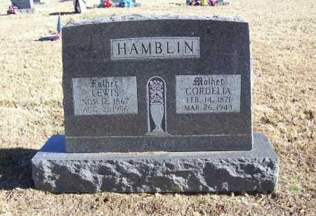 HAMBLIN, CORDELIA - Benton County, Arkansas | CORDELIA HAMBLIN - Arkansas Gravestone Photos