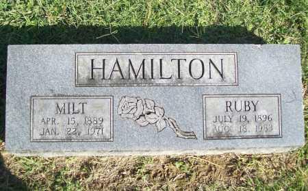 HAMILTON, RUBY - Benton County, Arkansas | RUBY HAMILTON - Arkansas Gravestone Photos