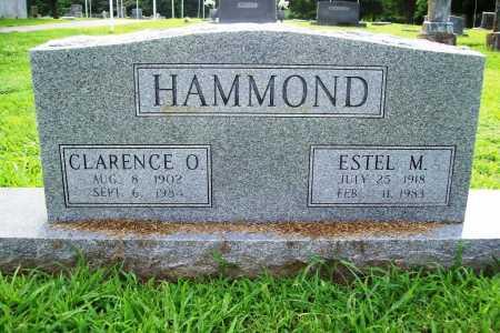 HAMMOND, ESTEL M. - Benton County, Arkansas | ESTEL M. HAMMOND - Arkansas Gravestone Photos