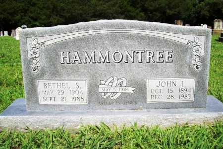 HAMMONTREE, BETHEL S. - Benton County, Arkansas   BETHEL S. HAMMONTREE - Arkansas Gravestone Photos