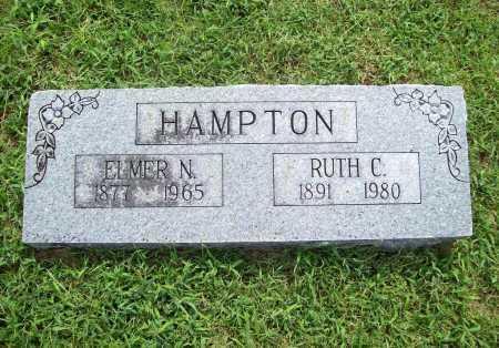 HAMPTON, ELMER NEWTON - Benton County, Arkansas | ELMER NEWTON HAMPTON - Arkansas Gravestone Photos