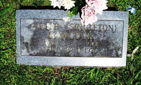 ASHER HANCOCK, GOLDIE - Benton County, Arkansas | GOLDIE ASHER HANCOCK - Arkansas Gravestone Photos