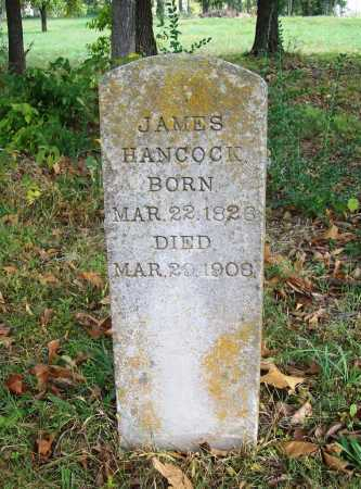 HANCOCK, JAMES - Benton County, Arkansas   JAMES HANCOCK - Arkansas Gravestone Photos