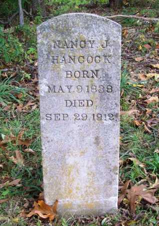 HANCOCK, NANCY JANE - Benton County, Arkansas   NANCY JANE HANCOCK - Arkansas Gravestone Photos