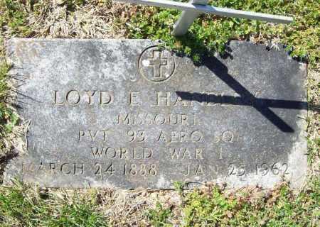 HANDLEY (VETERAN WWI), LOYD E - Benton County, Arkansas | LOYD E HANDLEY (VETERAN WWI) - Arkansas Gravestone Photos