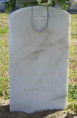 HANES (VETERAN WWII), GENE H - Benton County, Arkansas | GENE H HANES (VETERAN WWII) - Arkansas Gravestone Photos