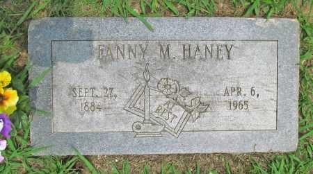 HANEY, FANNY MELISSA - Benton County, Arkansas   FANNY MELISSA HANEY - Arkansas Gravestone Photos