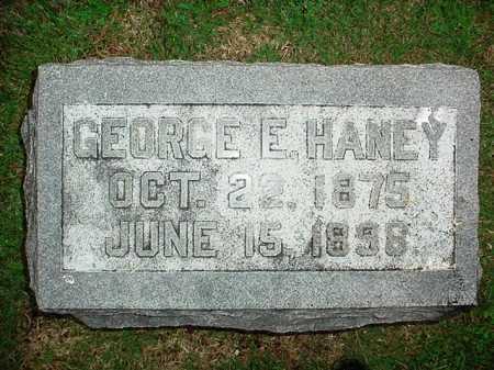 HANEY, GEORGE E. - Benton County, Arkansas | GEORGE E. HANEY - Arkansas Gravestone Photos
