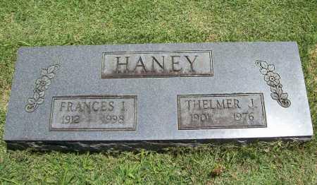 HANEY, FRANCES I. - Benton County, Arkansas | FRANCES I. HANEY - Arkansas Gravestone Photos