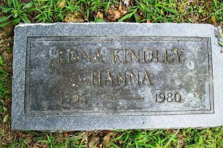 HANNA, EDNA - Benton County, Arkansas   EDNA HANNA - Arkansas Gravestone Photos