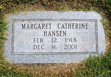 HANSEN, MARGARET CATHERINE - Benton County, Arkansas | MARGARET CATHERINE HANSEN - Arkansas Gravestone Photos