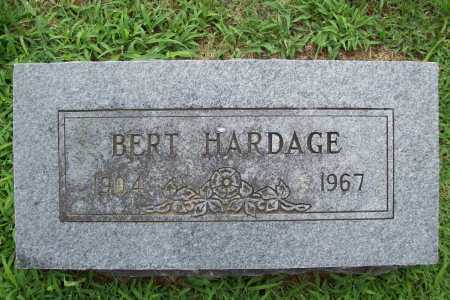 HARDAGE, BERT - Benton County, Arkansas | BERT HARDAGE - Arkansas Gravestone Photos