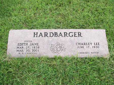 FOSTER HARDBARGER, EDITH JANE - Benton County, Arkansas | EDITH JANE FOSTER HARDBARGER - Arkansas Gravestone Photos