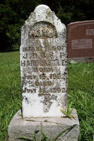 HARDCASTLE, INFANT SON - Benton County, Arkansas | INFANT SON HARDCASTLE - Arkansas Gravestone Photos