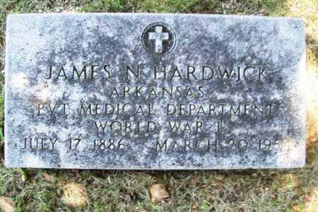 HARDWICK (VETERAN WWI), JAMES N. - Benton County, Arkansas | JAMES N. HARDWICK (VETERAN WWI) - Arkansas Gravestone Photos