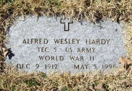 HARDY (VETERAN WWII), ALFRED WESLEY - Benton County, Arkansas | ALFRED WESLEY HARDY (VETERAN WWII) - Arkansas Gravestone Photos