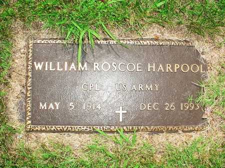 HARPOOL (VETERAN), WILLIAM ROSCOE - Benton County, Arkansas | WILLIAM ROSCOE HARPOOL (VETERAN) - Arkansas Gravestone Photos