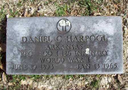HARPOOL (VETERAN WWI), DANIEL C - Benton County, Arkansas   DANIEL C HARPOOL (VETERAN WWI) - Arkansas Gravestone Photos