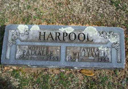 HARPOOL, WILLIAM J. - Benton County, Arkansas   WILLIAM J. HARPOOL - Arkansas Gravestone Photos