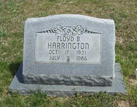 HARRINGTON, FLOYD B. - Benton County, Arkansas   FLOYD B. HARRINGTON - Arkansas Gravestone Photos