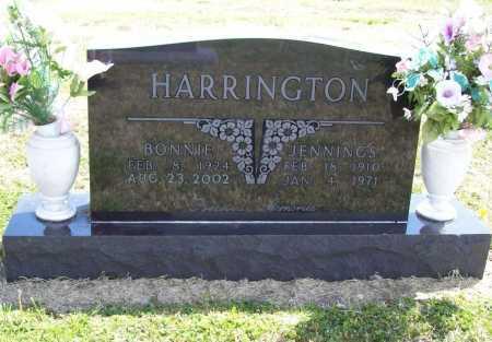 HARRINGTON, JENNINGS - Benton County, Arkansas | JENNINGS HARRINGTON - Arkansas Gravestone Photos