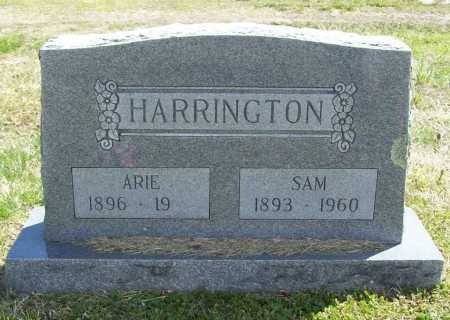 HARRINGTON, SAM - Benton County, Arkansas | SAM HARRINGTON - Arkansas Gravestone Photos