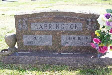 HARRINGTON, THEODORE R. - Benton County, Arkansas | THEODORE R. HARRINGTON - Arkansas Gravestone Photos