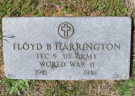 HARRINGTON (VETERAN WWII), FLOYD B - Benton County, Arkansas | FLOYD B HARRINGTON (VETERAN WWII) - Arkansas Gravestone Photos