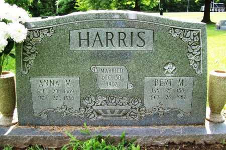 HARRIS, ANNA M. - Benton County, Arkansas | ANNA M. HARRIS - Arkansas Gravestone Photos