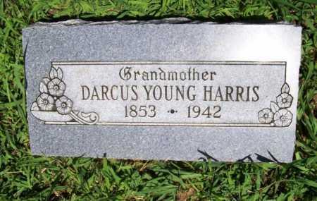 YOUNG HARRIS, DARCUS - Benton County, Arkansas | DARCUS YOUNG HARRIS - Arkansas Gravestone Photos