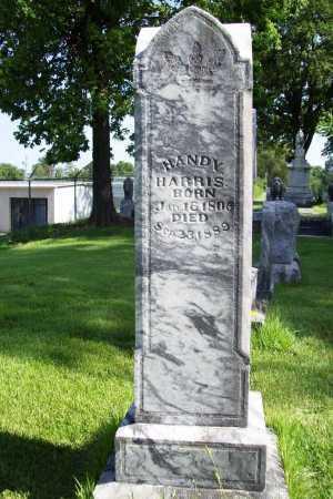 HARRIS, HANDY - Benton County, Arkansas   HANDY HARRIS - Arkansas Gravestone Photos
