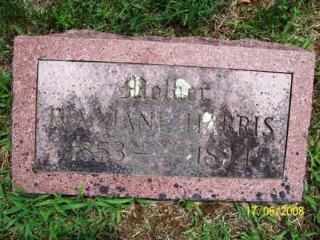 HARRIS, IVA JANE - Benton County, Arkansas | IVA JANE HARRIS - Arkansas Gravestone Photos