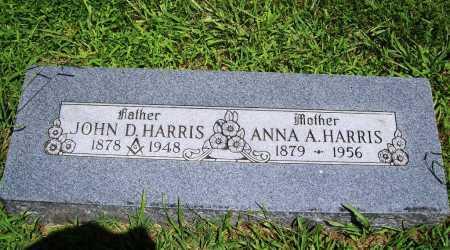 HARRIS, ANNA A. - Benton County, Arkansas | ANNA A. HARRIS - Arkansas Gravestone Photos