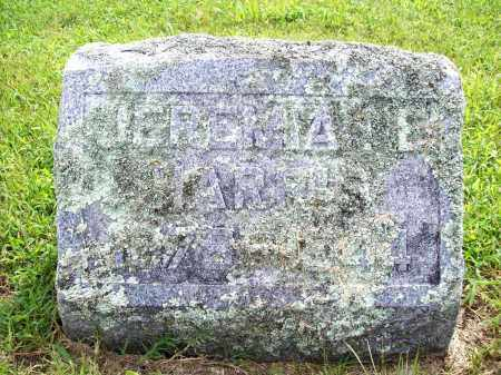 HARRIS, JEREMIAH E. - Benton County, Arkansas   JEREMIAH E. HARRIS - Arkansas Gravestone Photos