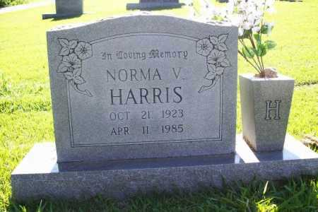 HARRIS, NORMA V. - Benton County, Arkansas | NORMA V. HARRIS - Arkansas Gravestone Photos