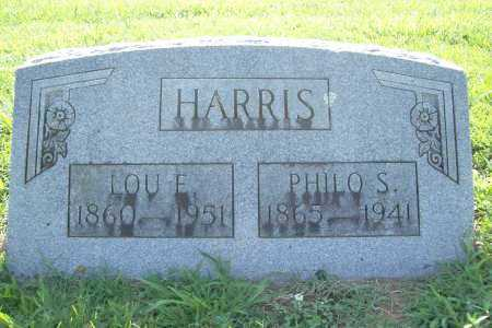 HARRIS, PHILO S. - Benton County, Arkansas | PHILO S. HARRIS - Arkansas Gravestone Photos